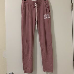 Lavender Colored sweats/joggers from PINK